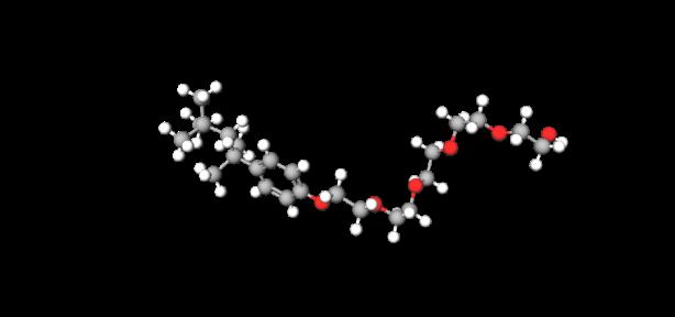36912-tetraoxatetradecan-1-ol-14-4-1133-tetramethylbutylphenoxy-model