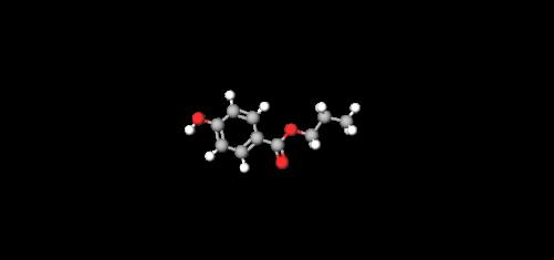 propylparaben-model