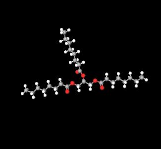 Caprylic Capric Triglycerides (3D Molecular)