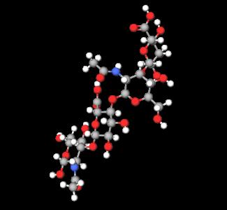 Hyaluronic Acid (3D Molecule)